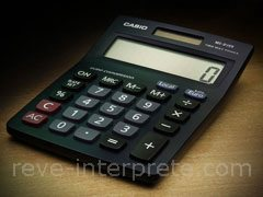 reve de calculatrice - interpretation des reves