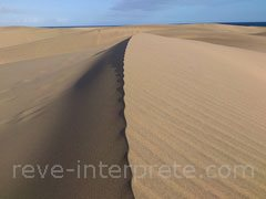 reve de sable - interpretation des reves